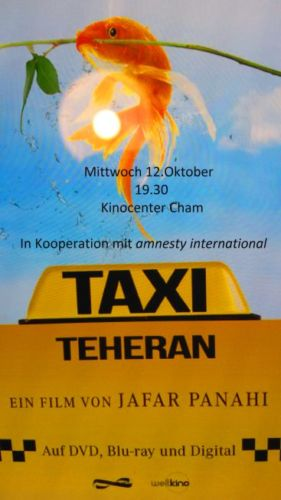 """Taxi Theheran"" im Kino-Center Cham"